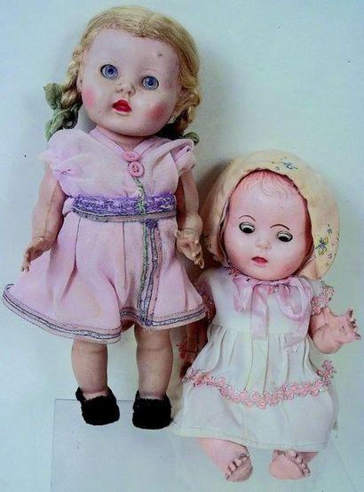 Deux petites Poupées Anglaises de marque...