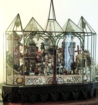 Architecture de verre réalisée à la façon...