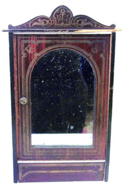 Superbe armoire avec porte à glace de style...