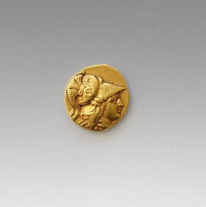 MACEDOINE (Royaume de) Statère d'or d'Aléxandre...