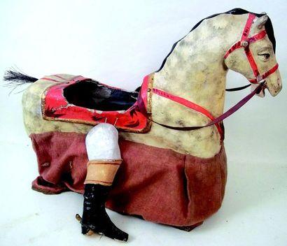 Extraordinaire déguisement de cheval-jupon...