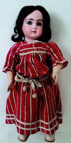 -Bébé par Jules Nicolas STEINER (1890) tête en biscuit pressé, moule Figure A 11,...