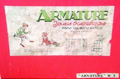 -«ARMATURE» jeu de construction scientifique...