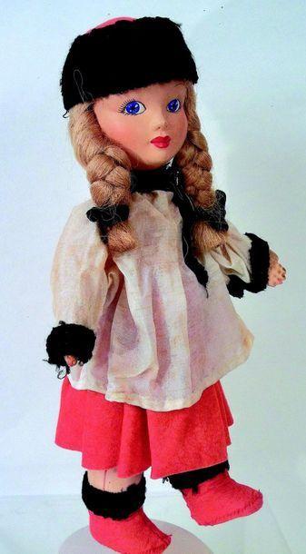 Poupée URIKA, poupée artistique par Mme ULRYCH...