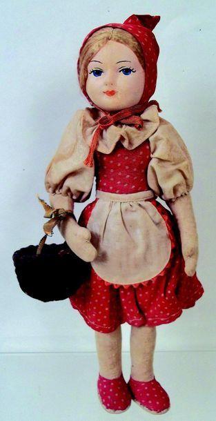 -«Le petit chaperon rouge» poupée à tête...
