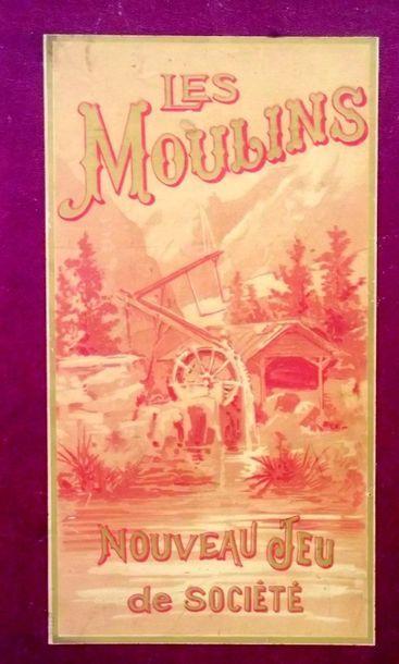 -«Jeu des Moulins» jeu d'adresse et de hasard...