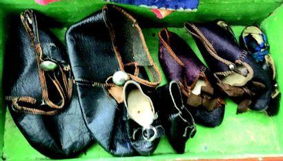 -Paire de souliers en cuir de marque ALLART,...