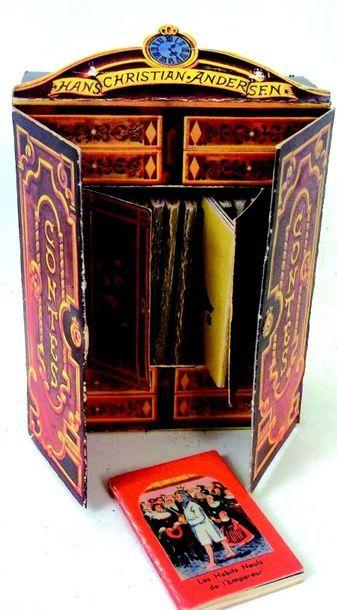 -Bibliothèque miniature contenant des petits...