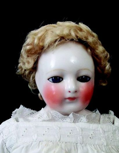 Rare poupée parisienne de la maison BLAMPOIX,...