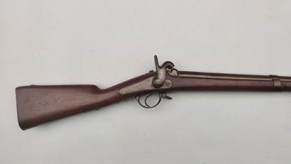 """Fusil de grenadier de la Garde impériale modèle1854, canon daté """"1855"""", platine..."""
