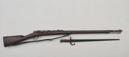 Fusil d'infanterie Gras modèle 1874 M80,...