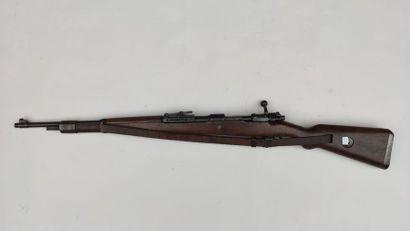 fusil Kar 98 BYF 43, numéro 5973, plaque de pontet pas au même numéro (4222), en...