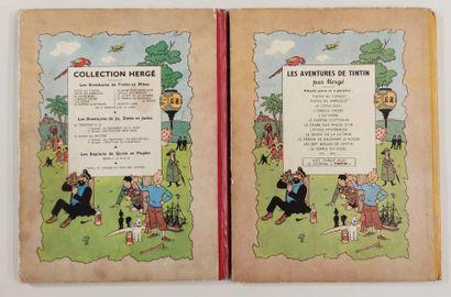 HERGE Editions CASTERMAN Lot de bandes dessinées Les Aventures de Tintin Le Sceptre...