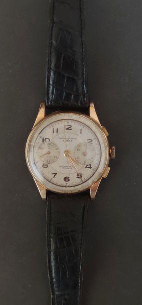 CHRONOGRAPHE SUISSE montre-bracelet chronographe,...