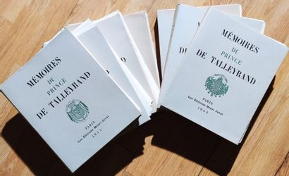 Memoirs of Prince Talleyrand, In 4 sheets,...