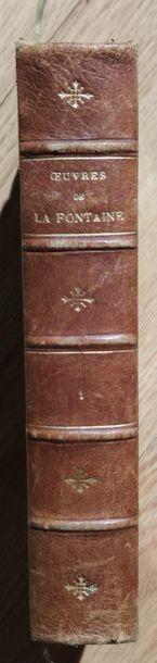 Jean de LA FONTAINE Oeuvres complètes 7 volumes, reliés, dos à cinq nerfs, Garnier...