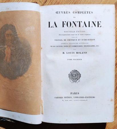 Jean de LA FONTAINE Complete works 7 volumes,...