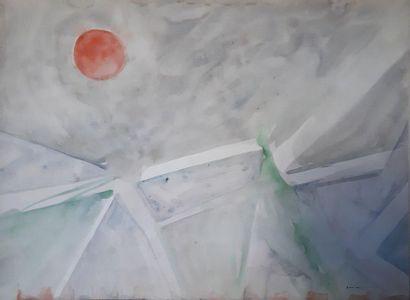 Beatus ZUMSTEIN (1927-1984) Composition sans...