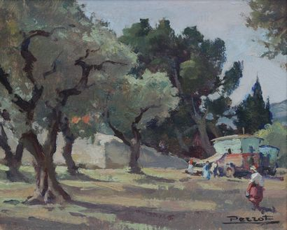 Maurice F. PERROT (1892-1935) Gypsies and...
