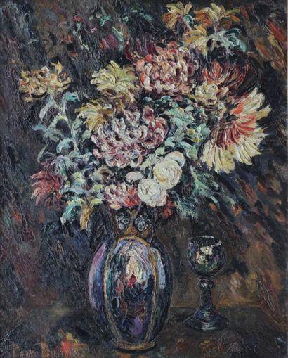 Pierre DUMONT (1884-1936) Le grand bouquet...