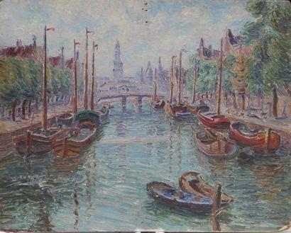 Edouard Jean DAMBOURGEZ (1844-1931) Port...