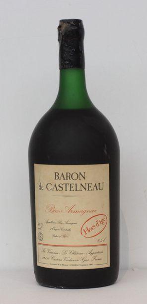 1 jar BAS ARMAGNAC BARON DE CASTELNEAU HORS...