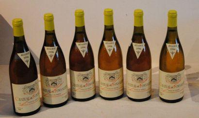 6 end CHT DE FONSALETTE WHITE 1996