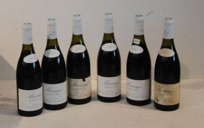 6 end LEROY TANGES 1990 (2 stained, 1 leg...