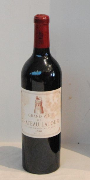 1 end CHT LATOUR 2001 (stained label)