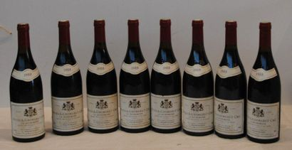 8 end NUITS ST GEORGES LA RICHEMONE PERNIN-ROSSIN...