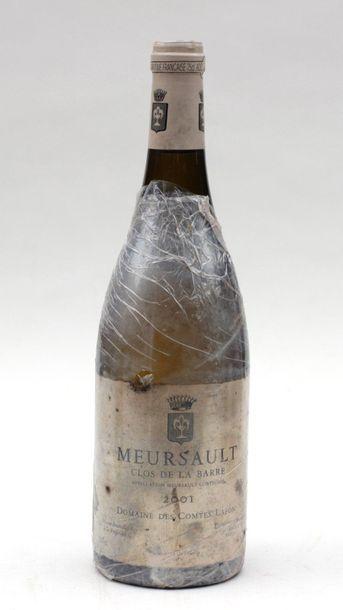 1 end MEURSAULT CLOS DE LA BARRE COMTE LAFON 2001 (ETIQ SALE)