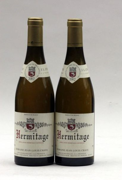 2 end HERMITAGE BLANC JL CHAVE 2002