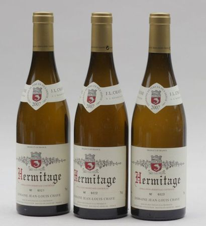 3 end HERMITAGE BLANC JL CHAVE 2007