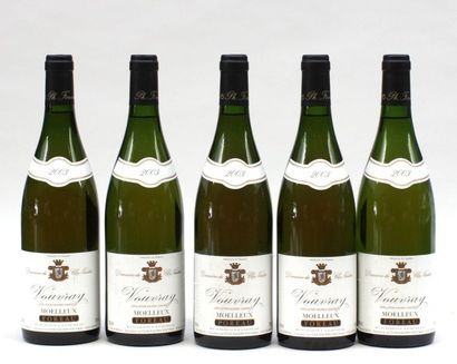 5 bout VOUVRAY MOELLEUX CLOS NAUDIN 2003
