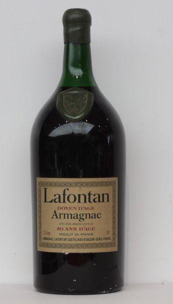 1 jar ARMAGNAC LAFONTAN 30 YEARS old