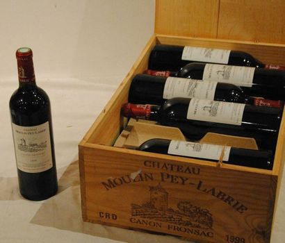 12 bout CHT MOULIN PEY LABRIE 1999 CB