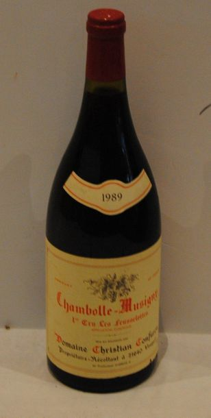 1 mag CHAMBOLLE MUSIGNY 1ER CRU LES FEUSSELOTTES...