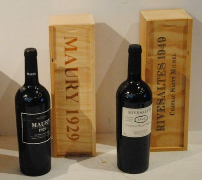 5 bout 3 CHT MAURY 1929, 2 RIVESALTES 19...