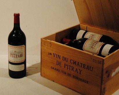6 mag CHÂTEAU DE PITRAY 2000