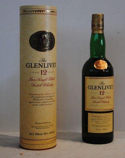 1 bout WHISKY GLENVILET 12 ANS D'AGE