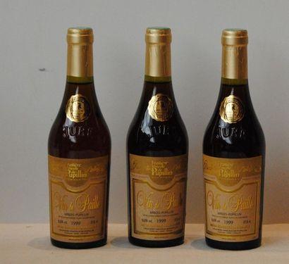 """3 bottles """"ARBOIS PUPILLIN"""" FRUIT WINE """"ARBOIS PUPILLIN"""" FRUIT WINE PUPILLIN WINE..."""