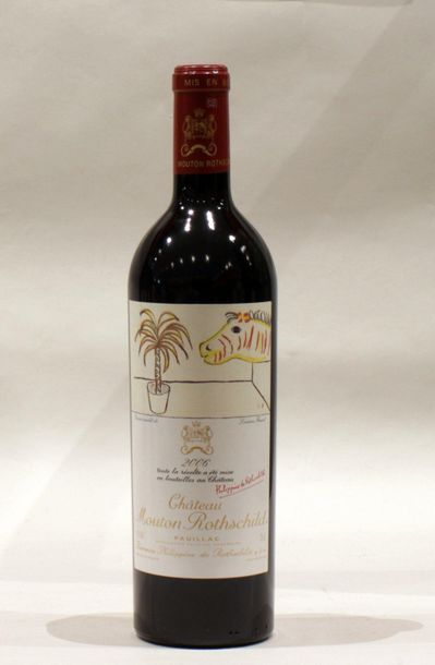 1 bout CHT MOUTON ROTHSCHILD 2006