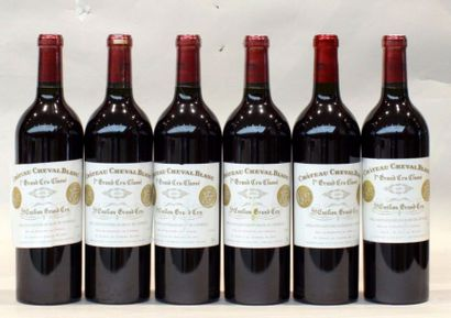6 bout CHT CHEVAL BLANC 2001