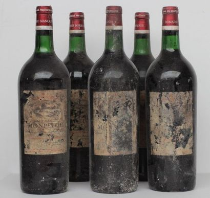 5 mag CHT HAUT BAGES MONTPELOU 1967 (VERY...