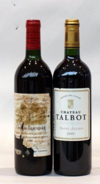 2 bout 1 CHT BEAUSEJOUR 1988, 1 CHT TALBOT...