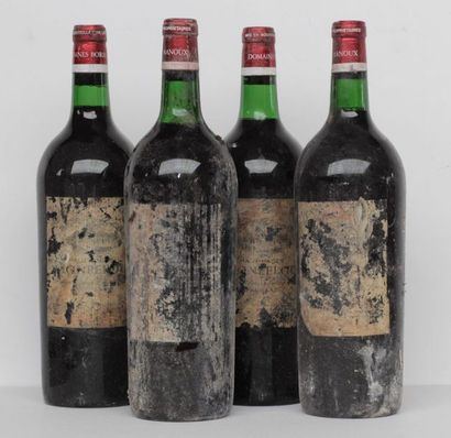 4 mag CHT HAUT BAGES MONTPELOU 1967 (VERY...