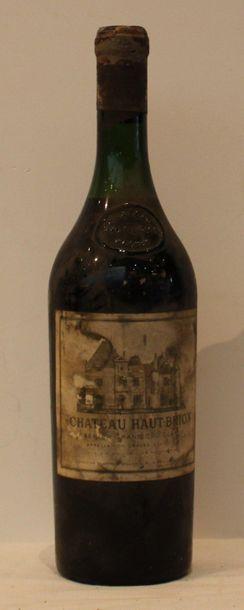 1 bout CHT HAUT BRION 1958