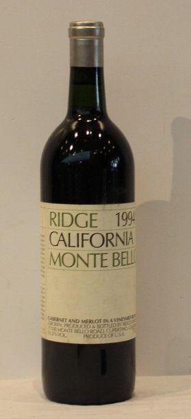 1 bout RIDGE MONTEBELLO 1994 96/100