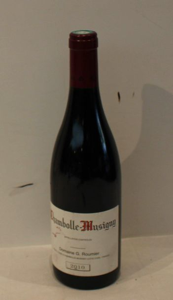 1 bout CHAMBOLLE MUSIGNY G. ROUMIER 2010