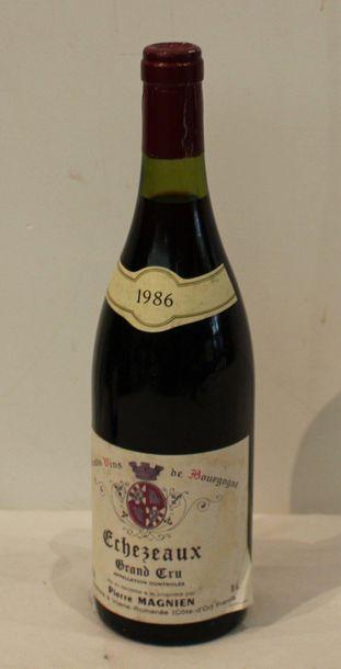 1 bout ECHZEAUX PIERRE MAGNIN 1986